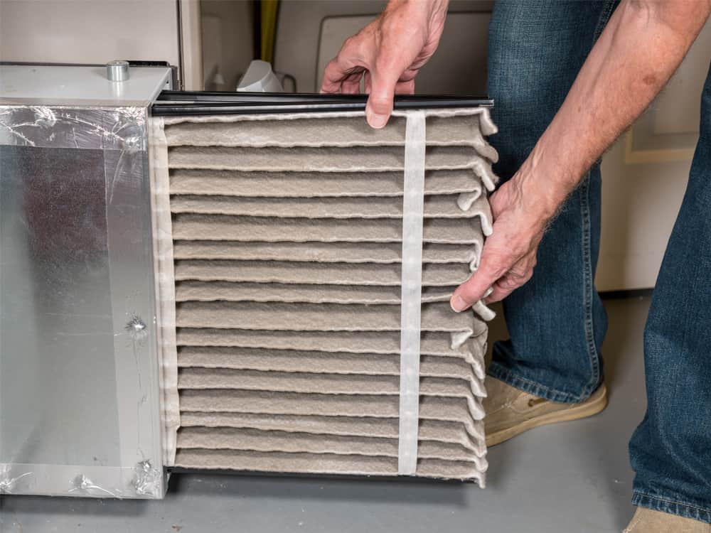 Regularly changing your filters can improve the health of you family and you air system.