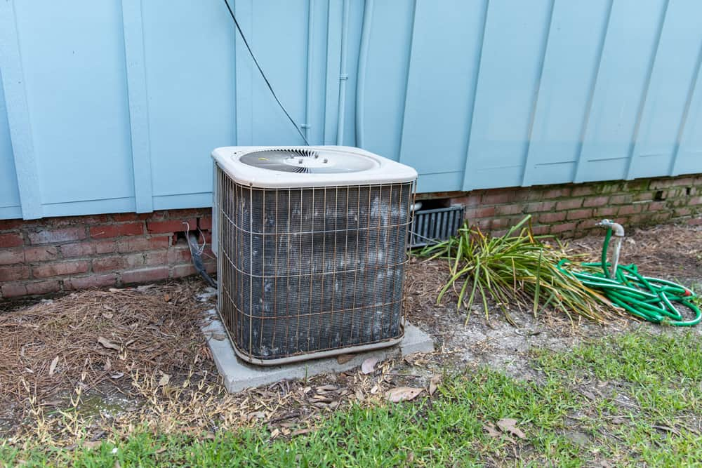 How can I protect my air conditioner for the winter?