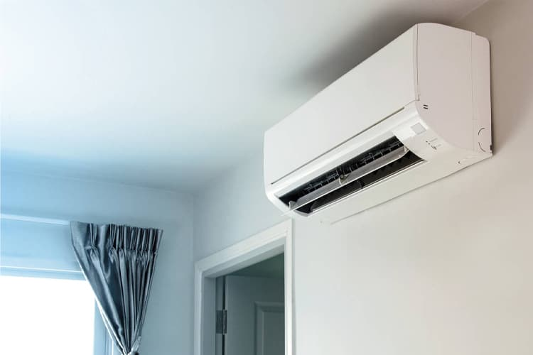Mini split systems are small, ductless devices that offer combined heating and cooling functionality with very little need for alteration to your home.