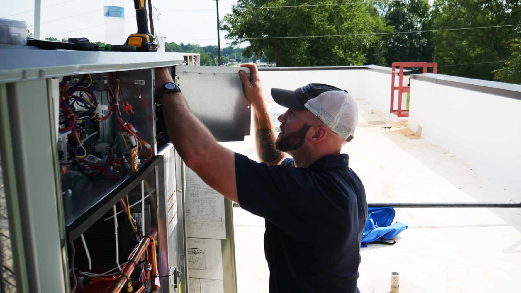 Commercial HVAC maintenance in Columbia SC